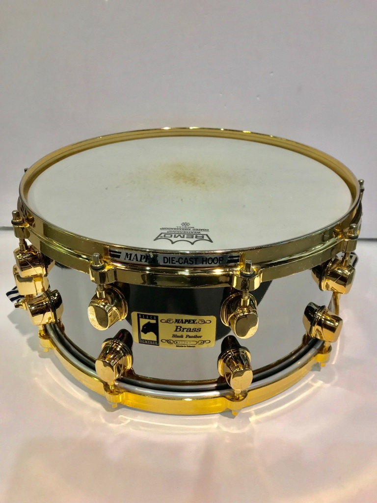"Mapex Black Panther Brass 14 ""x6.5"" [used article]"