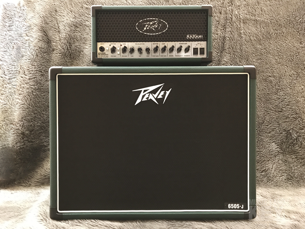 PEAVEY 6505MH Japan Edition & 112-Guitar Cabinet Japan Edition SET [BELDEN made SP cable gifts!]