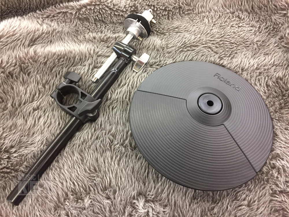 Roland Cymbal Pad CY-5 & dedicated attachment SET