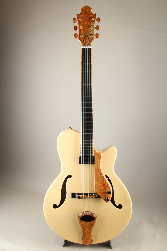 """Nishgaki Guitars Arcus Style-N """"Kiso Hinoki / Maple"""""""