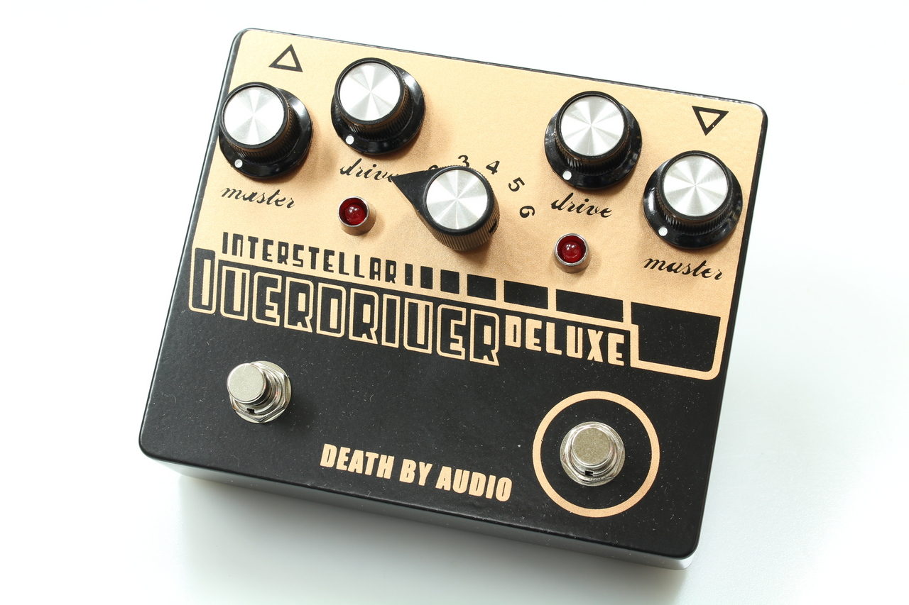 DEATH BY AUDIO INTERSTELLAR OVERDRIVER DELUXE