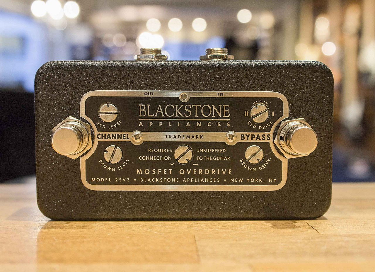 Blackstone Appliances Mosfet Overdrive 2SV3
