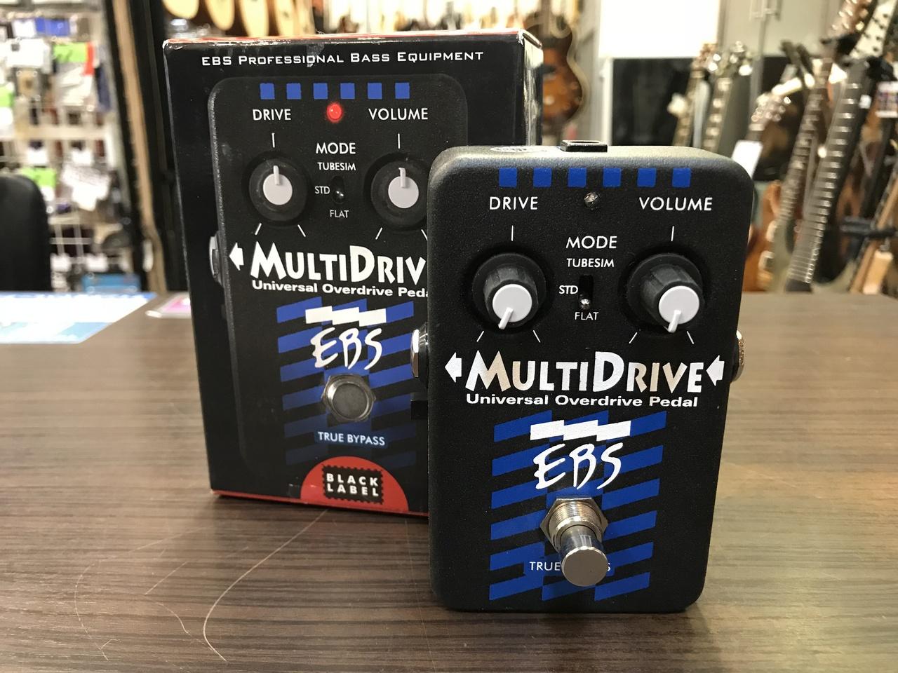 EBS MultiDrive 【アウトレット特価】【旧仕様】【ベース用オーバードライブ】