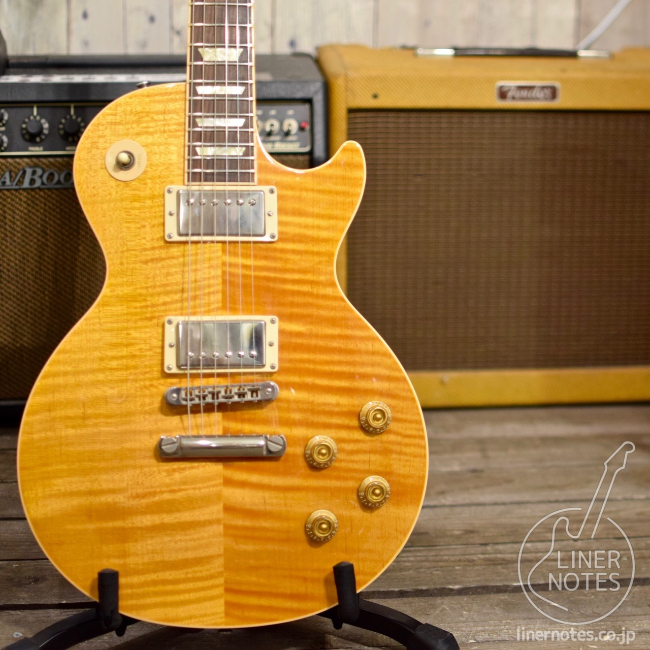 Gibson 2005 50s Les Paul Standard Plus (Trans Amber)