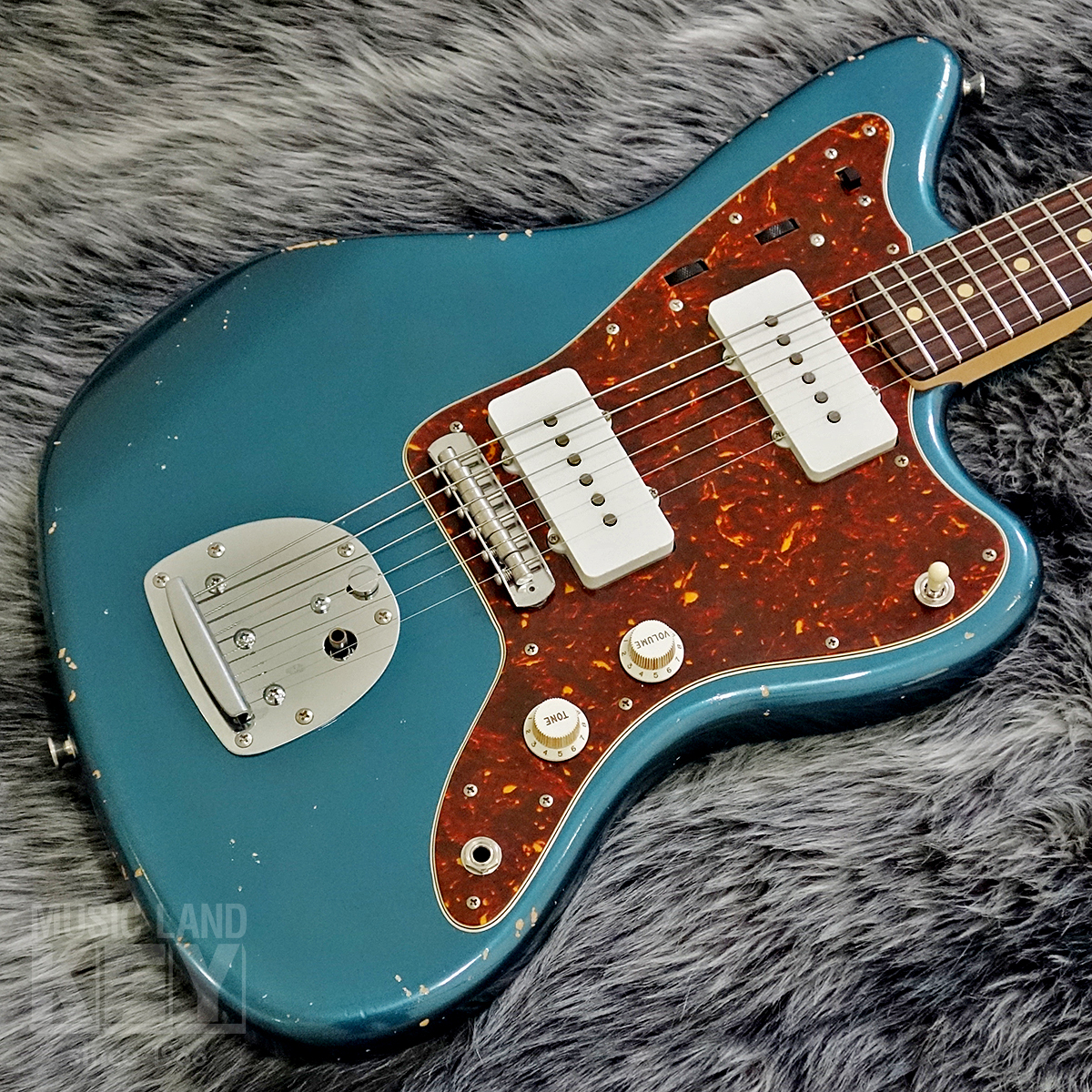 [One to overturn the common sense of JM type] Fullertone Guitars JUGGLING MASTER 58 Soft Rusted Lake Placid Blue MH