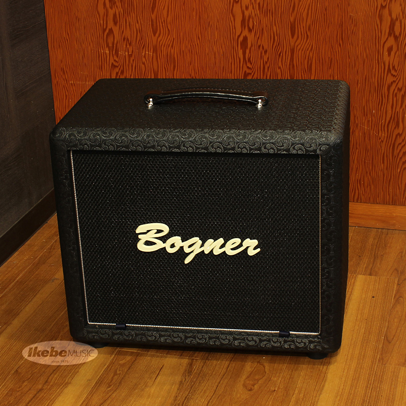 Bogner 112 Cube Cabinet, closed back/dual ported, Comet, Black, Silver Piping[16Ω仕様]