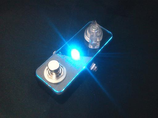 D.A-Project D.A-Booster Blue/True Bypass/Blue LED