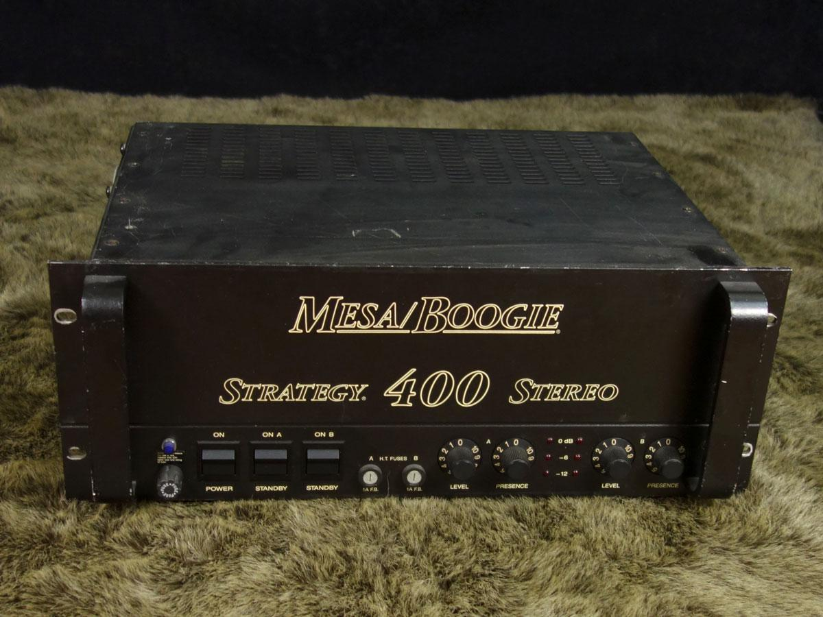 Mesa / Boogie Strategy 400 Stereo Power Amp