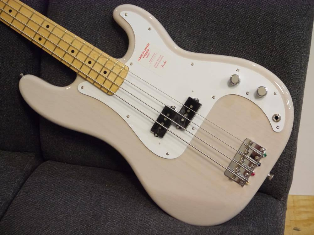 Fender MIJ Hybrid 50s Precision Bass US-Blonde