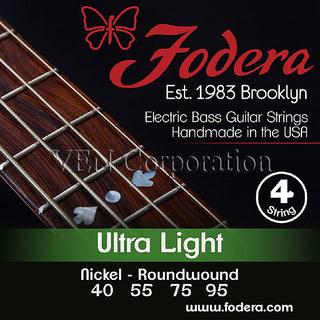 Fodera Fodera Strings Nikel-Nickel Roundwound 40 55 75 95