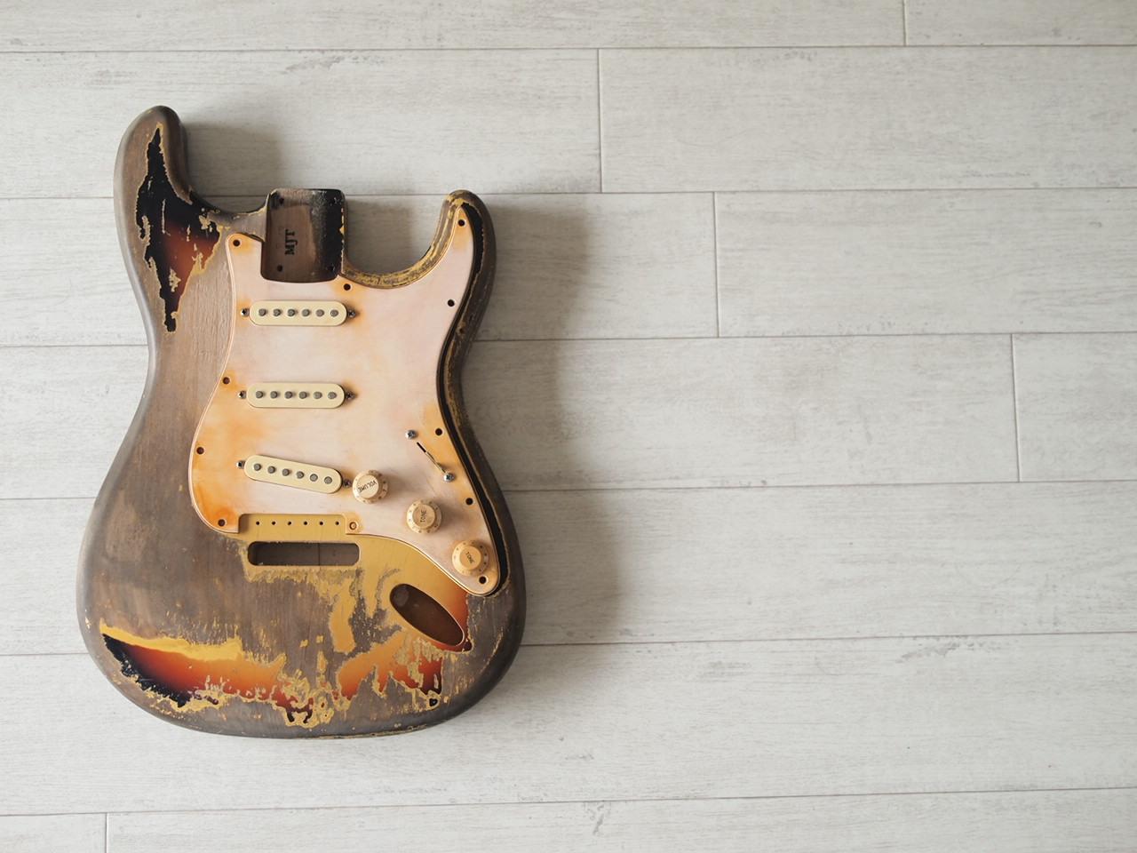 "MJT Stratocaster Body - ""Rory"""