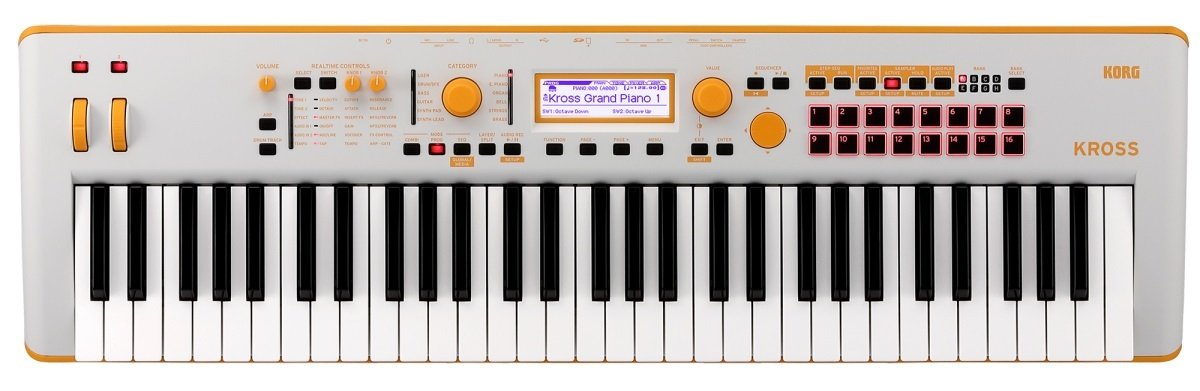 KORG KROSS 2-61 - Special Edition - / GO 【キャリングケース付き!!送料無料!!】