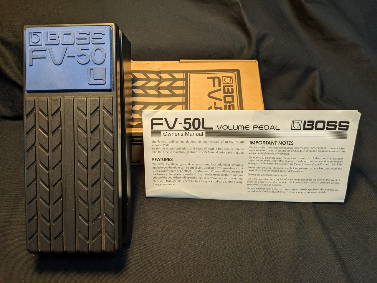 "BOSS FV-50 ""L"" Volume Pedal"