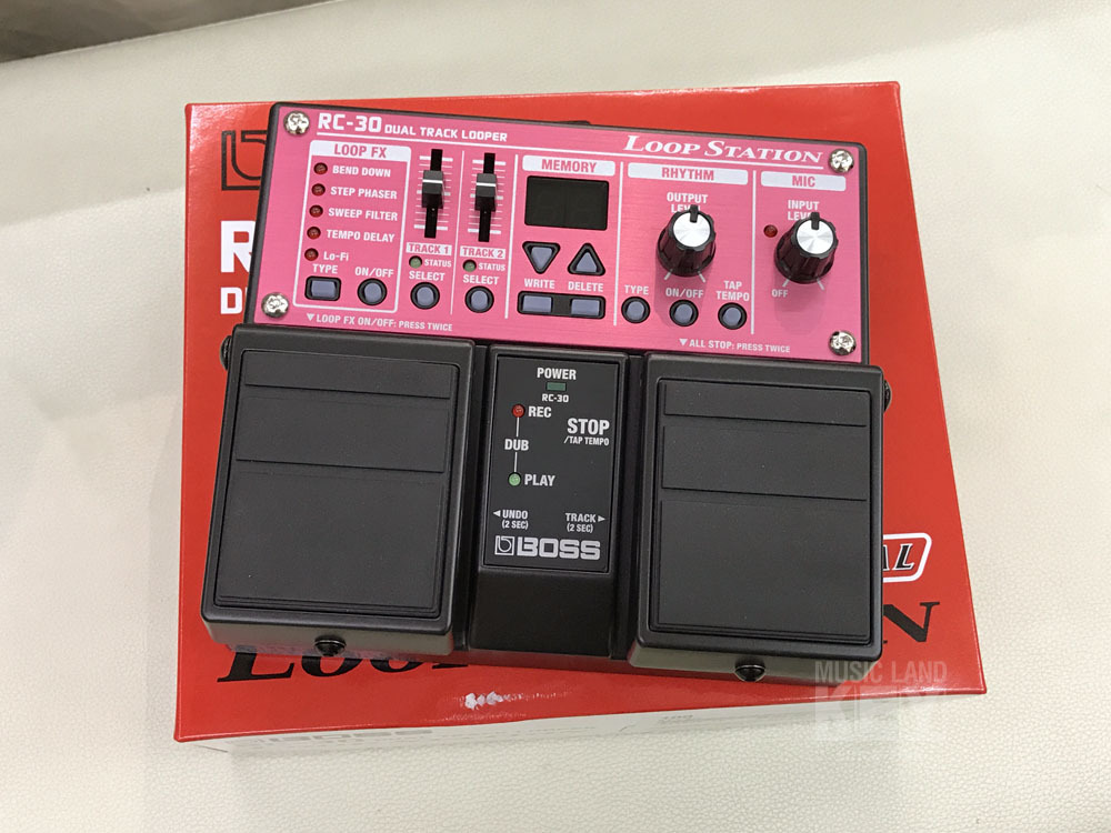 BOSS RC-30 Loop Station 1 single as long as the box rags Sale