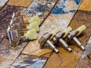 """KEY'STONE GSS-STD / NICKEL 3/3 [MUSICLAND KEY ORIGINAL """"Brass post"""" custom pegs !! very small stock!]"""