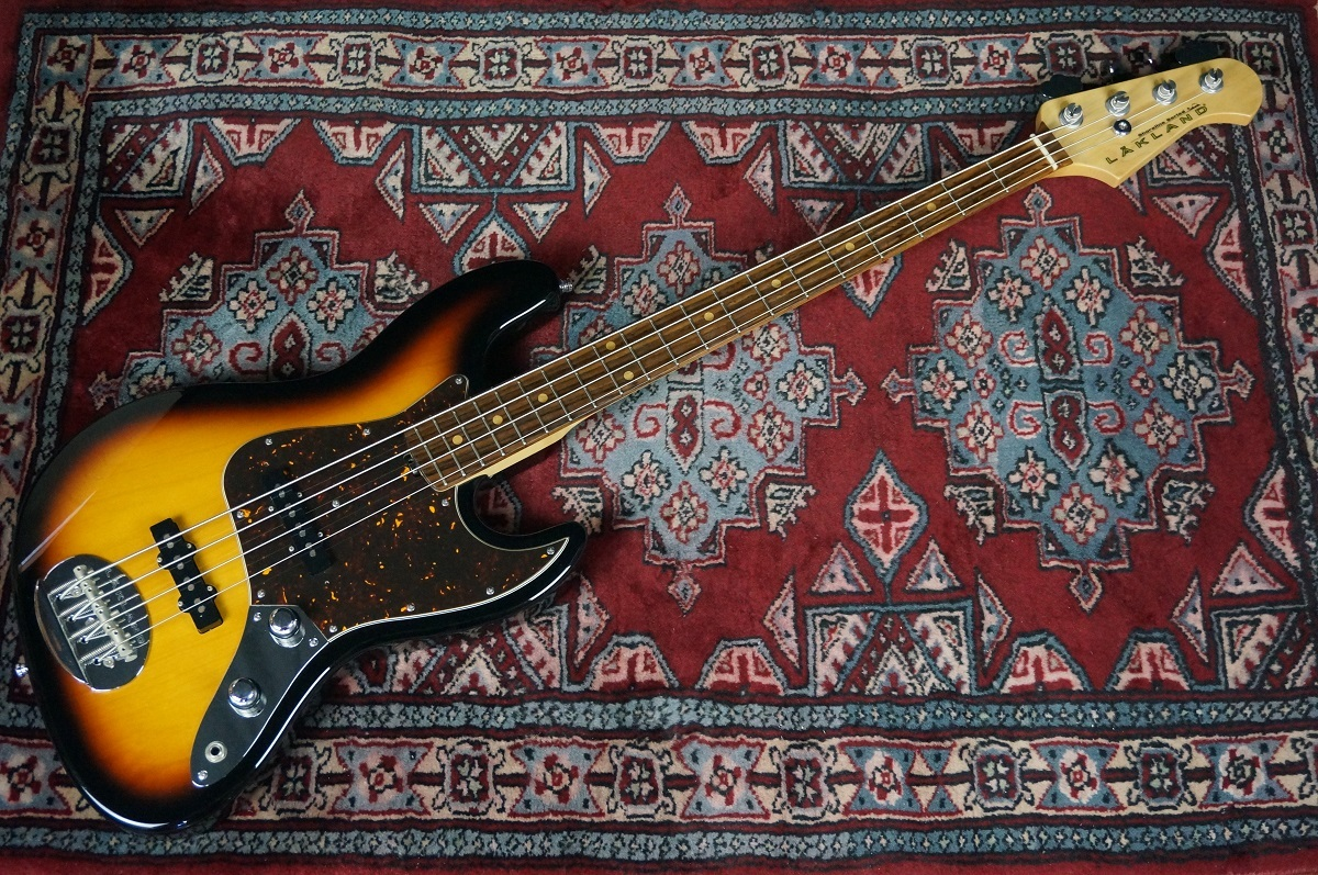 Lakland SL44-60 / 3TS used [Best one !! used article of Shoreline series of in stock!]
