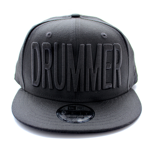 DRUMMERS TOP TEAM DTT CAP04 NEW ERA X DTT / 9FIFTY BLACK X BLACK