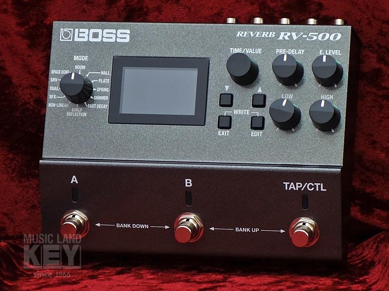 BOSS RV-500 [終極混響踏板!]