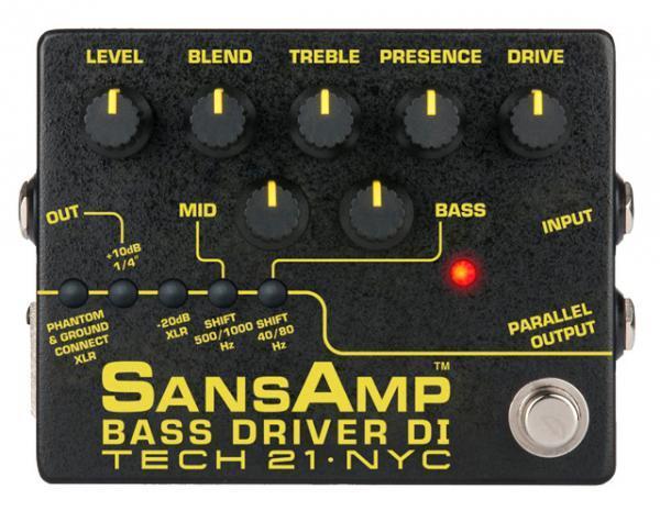 Tech 21 SansAmp BASS DRIVER DI Ver.II