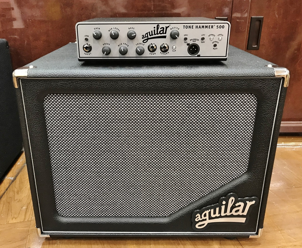 aguilar TONE HAMMER 500 + SL112 Cabinet Outlet Specials]