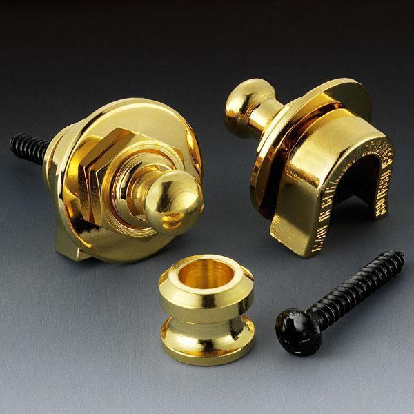 Schaller Security Locks 447 Gold Gold security lock [classic]