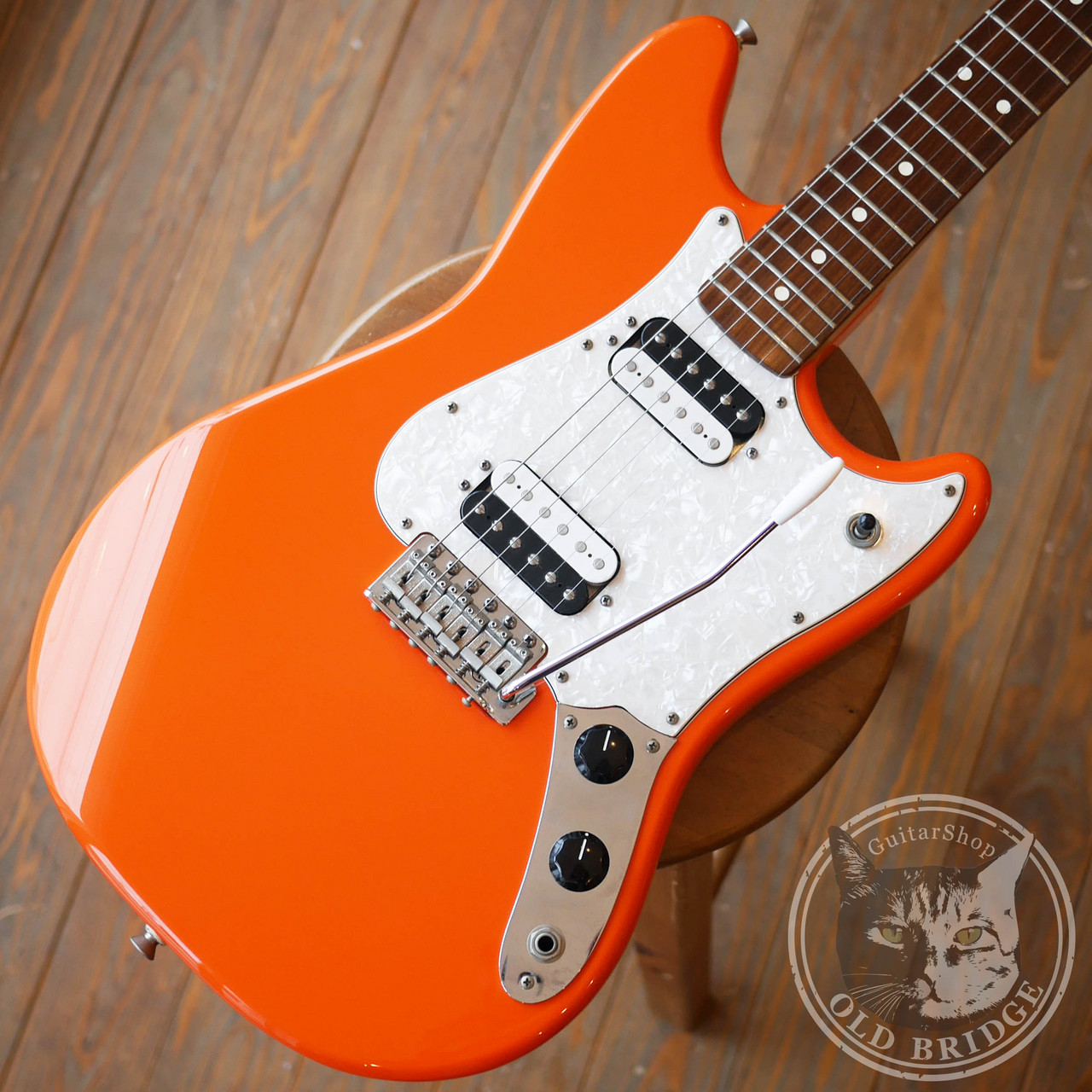 Fender Mexico Cyclone 2 Humbucker  Capri Orange