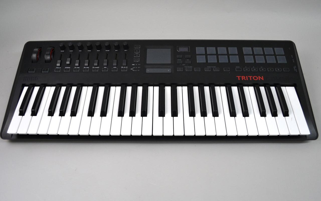 KORG TRTK-49 TRITON taktile MIDI keyboard [Kumamoto Parco shop] with sound source