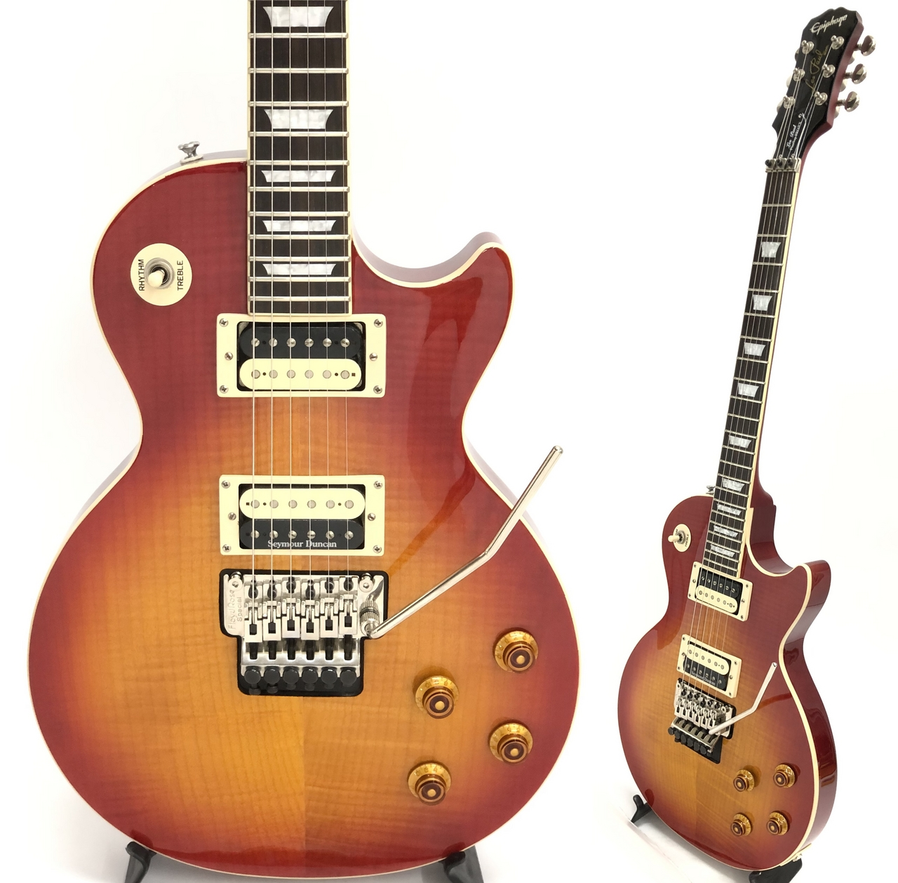Epiphone Custom Shop Limited Edition Les Paul Plus Top Pro FX Heritage Cherry Sunburst