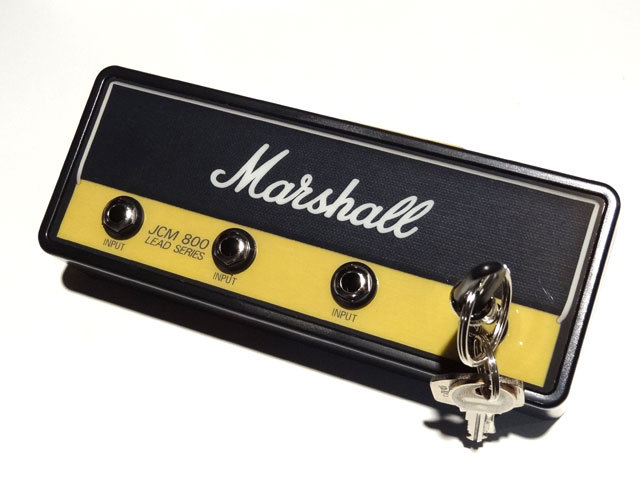 """Pluginz Official MARSHALL Jack Rack- """"JCM800 STANDARD"""" with 4 keychains"""