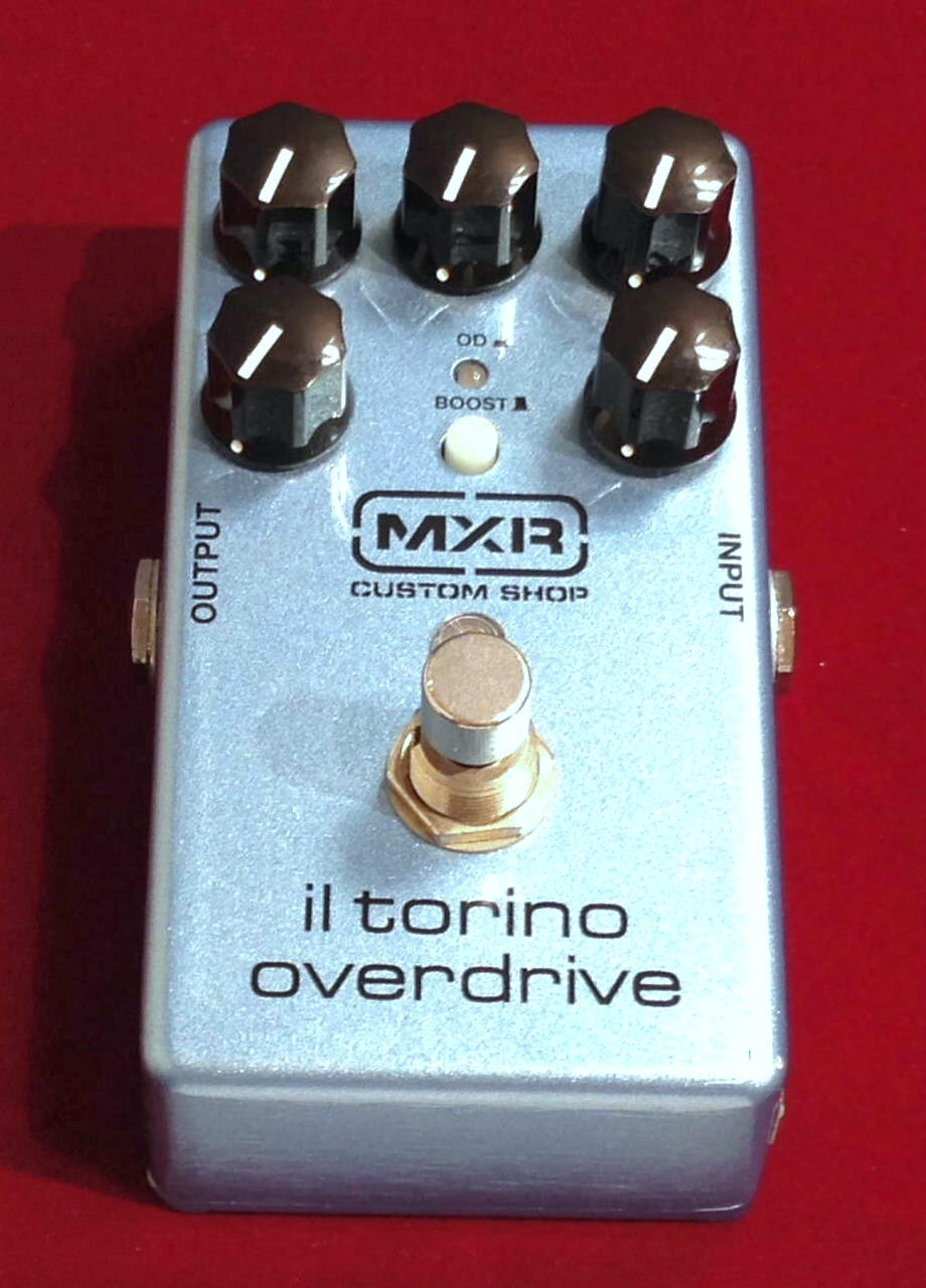 MXR CSP033 IL Torino Overdrive 【8月20日まで10%OFFタイムセール+送料無料】【中古】【箱取説付】