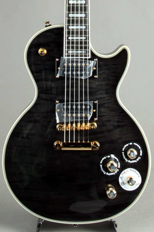 Epiphone Prophecy Les Paul Custom Plus GX Midnight Ebony