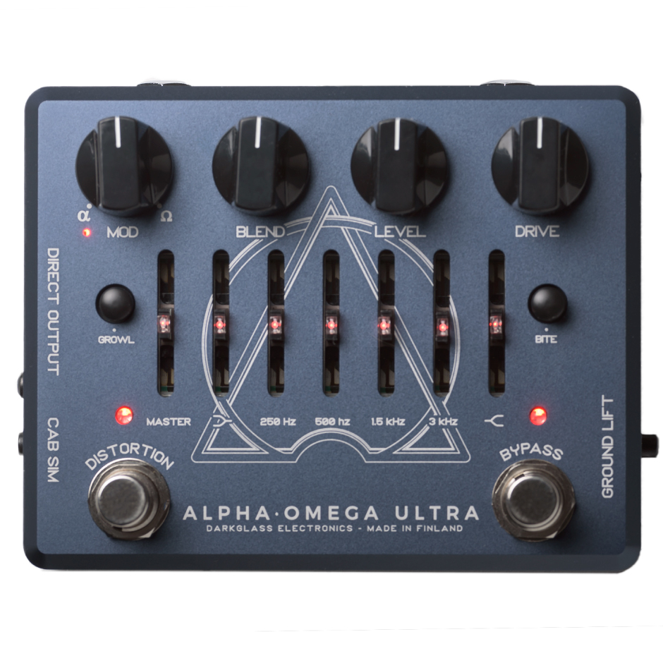 [Will be released March 3, 2008 - Darkglass Electronics Alpha · Omega ultra