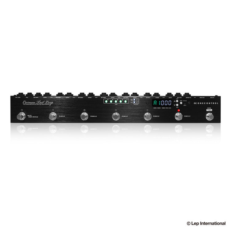 [Programmable switcher !!!!, which also includes MIDI function] ONE CONTROL Caiman Tail Loop