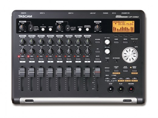 Tascam DP-03SD ★ 8 track · SD card recorder