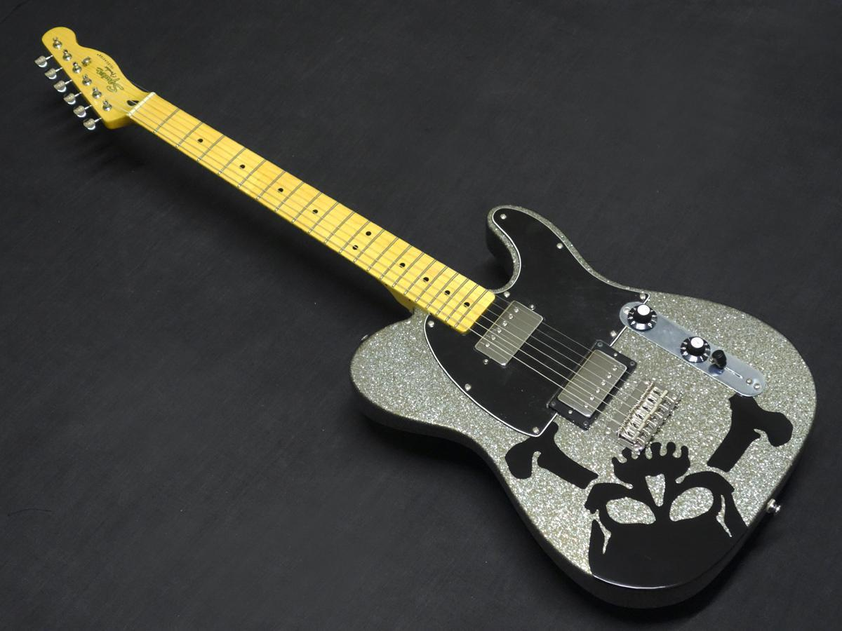 Squier SCANDAL HARUNA TELECASTER DARK SILVER SPARKLE [big thank sale the end of the year]
