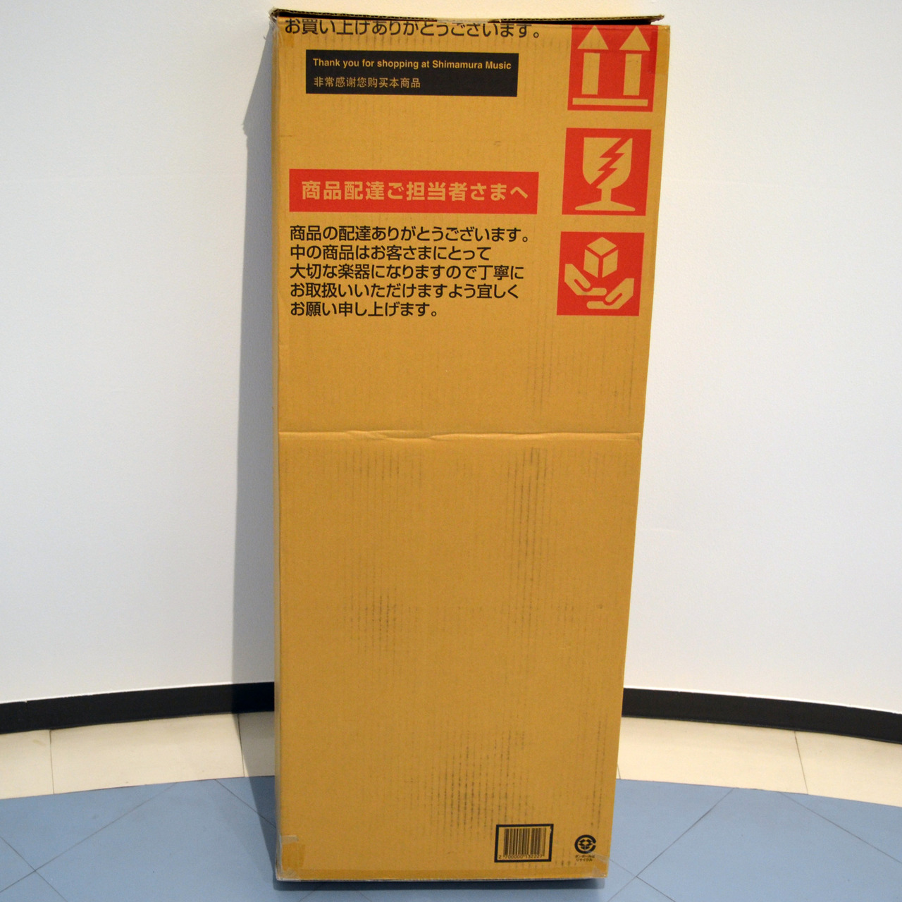 Shimamura musical instrument electric guitar, a cardboard box 1 box for bass [Kumamoto Parco shop]