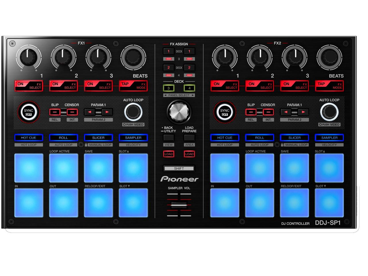 先鋒DJ DDJ-SP1 [效果/的DDJ-SX的焊盤部是獨立!] [!]