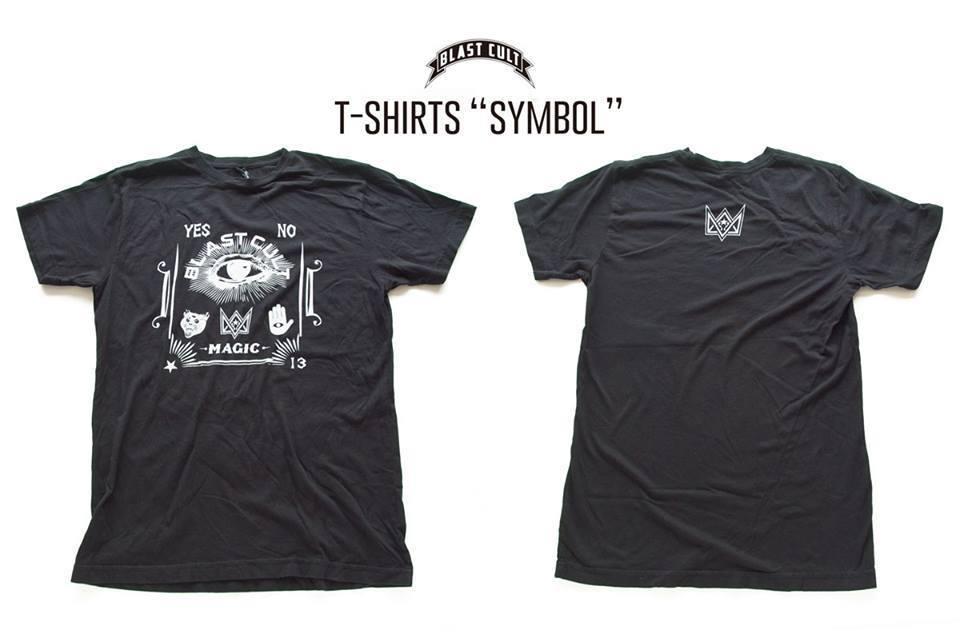 """Blast Cult T-SHIRTS """"SYMBOL"""" / SIZE L"""