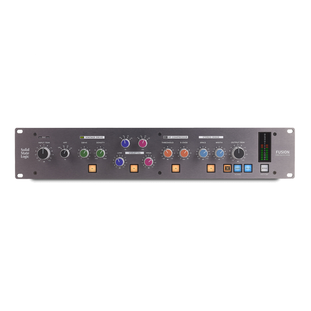 Solid State Logic (SSL) Fusion [five complete analog-out board of 2U size equipped with analog tool!] []