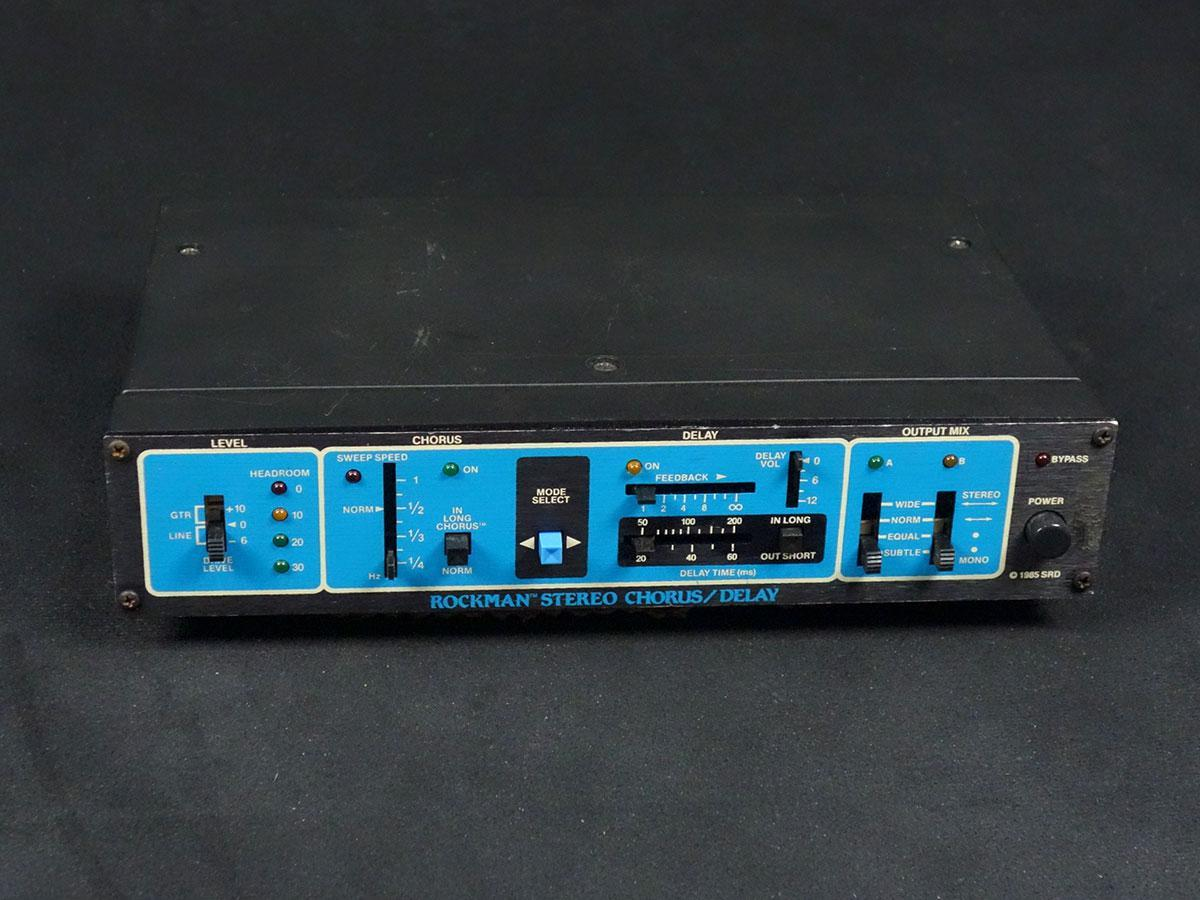 Rockman STEREO CHORUS/DELAY Model 100