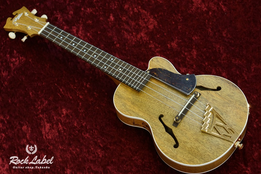 D'Angelico Giulietta MU-6CPS-NY - Natural Yellow
