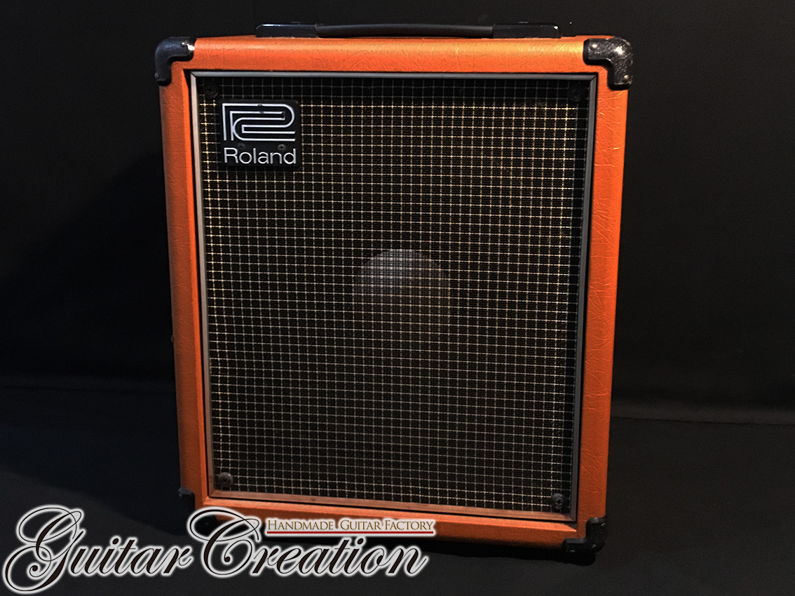 Roland CUBE-40【Orange】w/Original Cover~Vintage Retro Rock Sound~