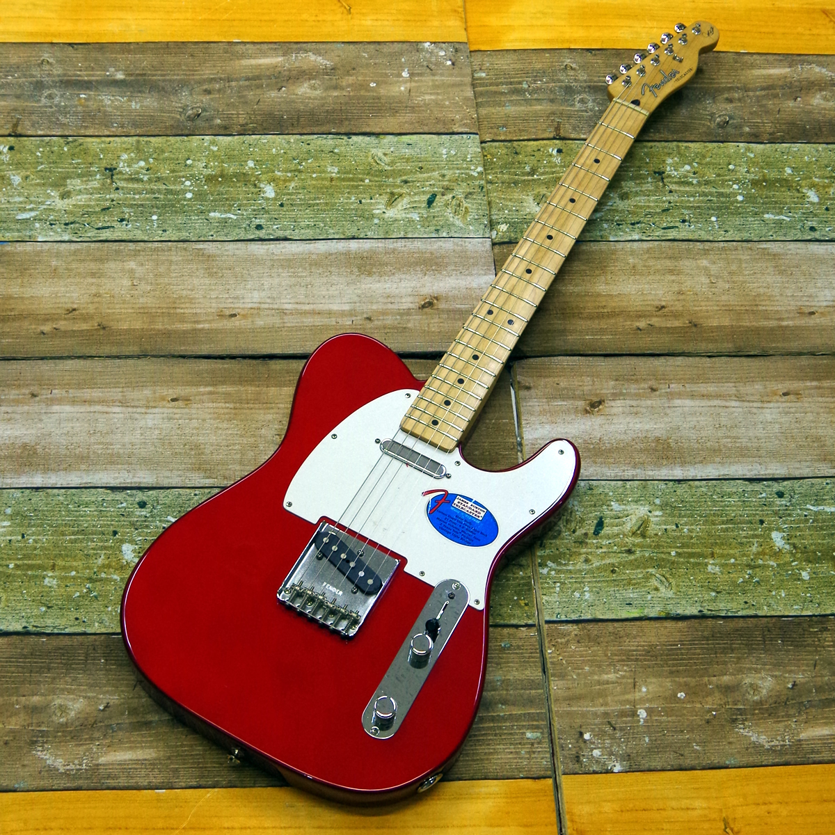 Fender  James Burton STD Telecaster Candy Apple Red