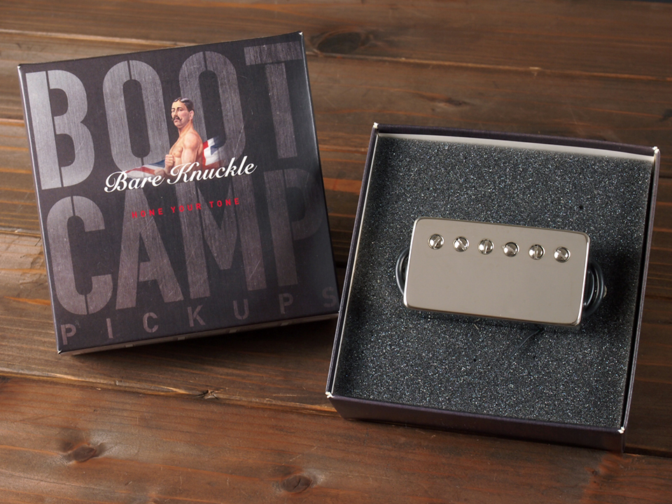 "Bare Knuckle Pickups ""Boot Camp Series""  True Grit  / 6 String Humbucker / Bridge 50mm / Covered Nickel"