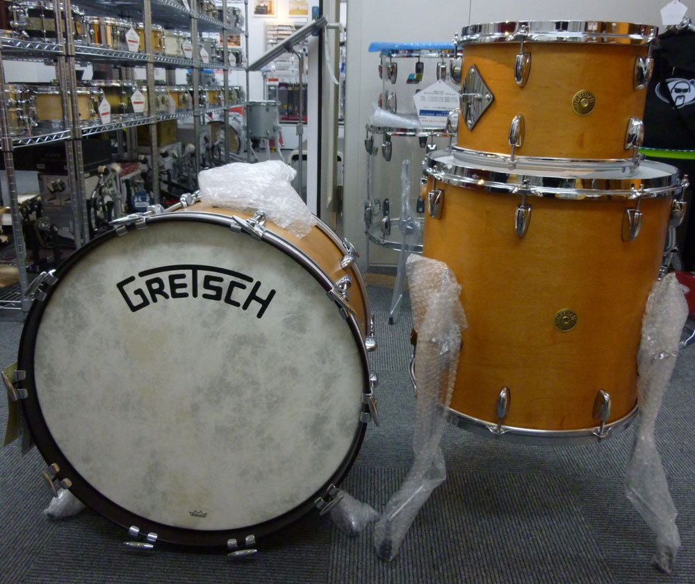 "Gretsch Broadkaster Vintage Build (satin classic maple) TT8 ""× 12"" FT16 ""× 16"" BD14 ""× 22"""