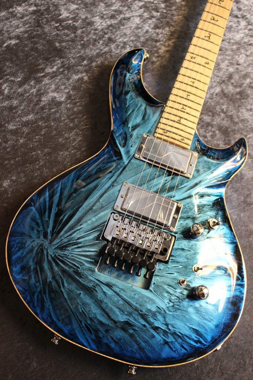 G-Life Guitars 【真冬のG-Lifeフェアー開催】G-PHOENIX Custom Stardust Blue Moon 【オリジナルスケール】