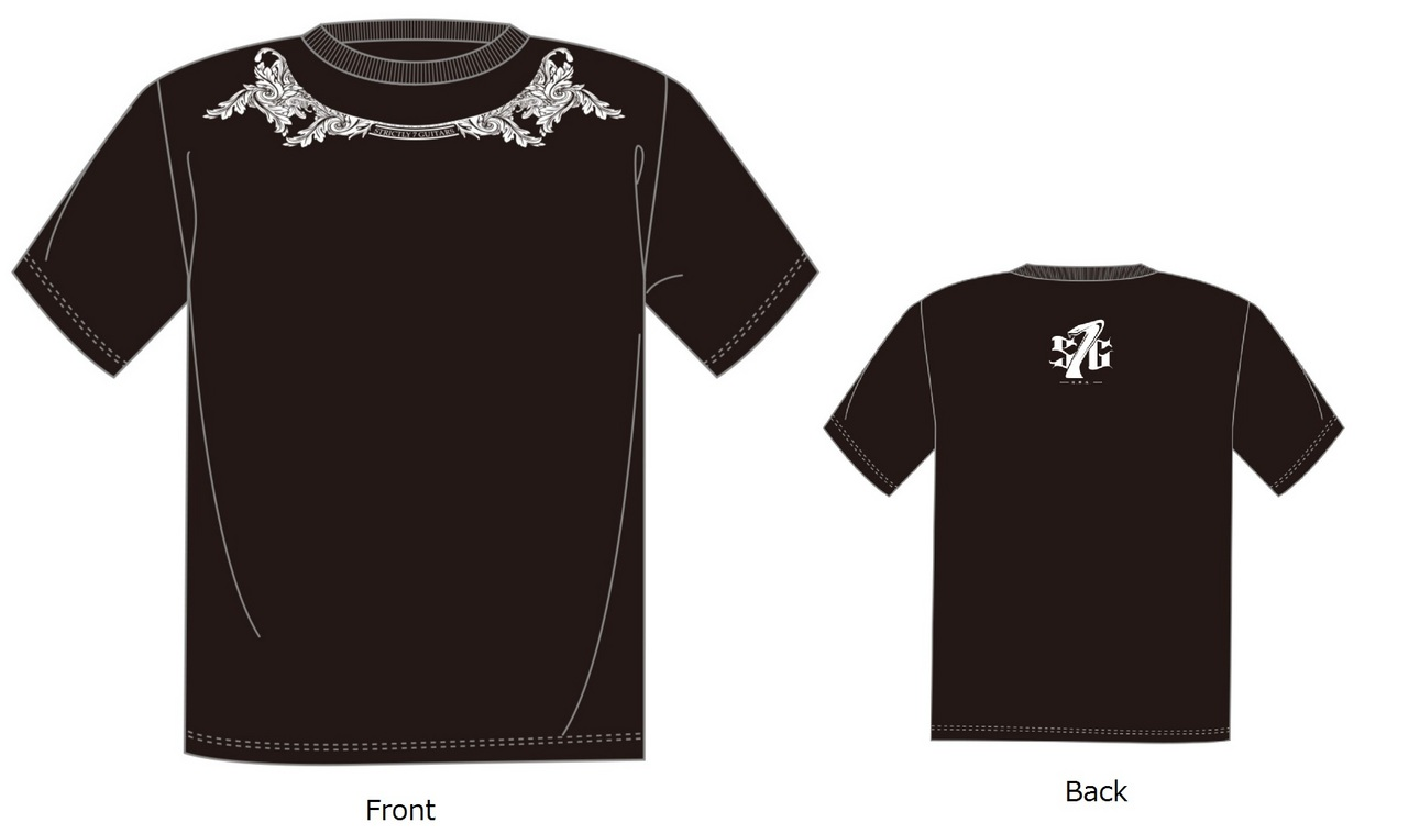 Strictly 7 Guitars S7G LATN T-Shirt / XL T-shirt / BK