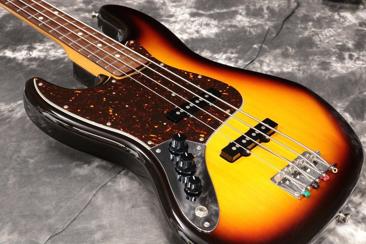 Fender Japan Jazz Bass JB62-LH Left-Handed 3-Tone Sunburst (3TS) [U