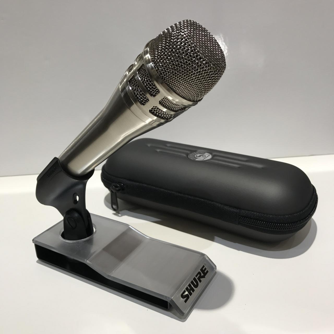 Shure KSM8 / N nickel cardioid dynamic vocal microphone