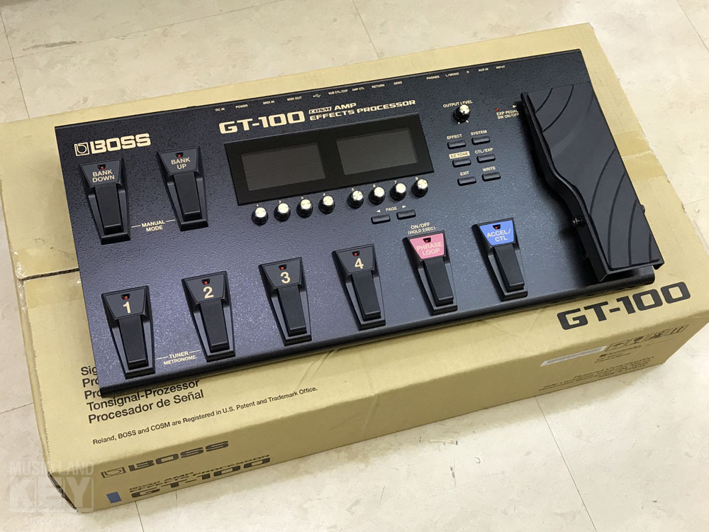 BOSS GT-100 Ver.2.0 boxes rags discount! [(Except for a detached island)]